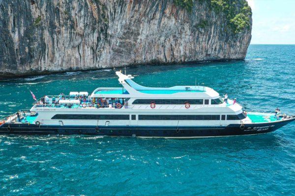 ทัวร์เกาะพีพี เรือเฟอร์รี่ ครุยเซอร์